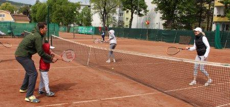 Tennis-Familie